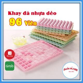 Khay làm đá, thạch rau câu 96 viên hình kim cương nhỏ từ nhựa PVC cao cấp bền đẹp – buôn rẻ 01225