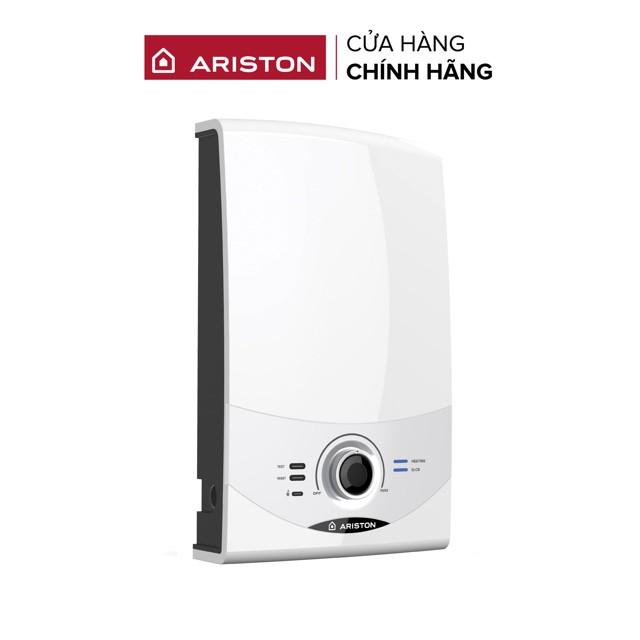 [Mã ELAR200 giảm 200k] Miễn phí công lắp đặt_Máy nước nóng trực tiếp có bơm Ariston AURES SM35PE SBS VN - Mẫu 2020