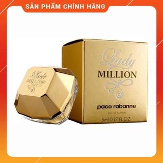 [ Minisize ] NƯỚC HOA MINI NỮ PACO RABANNE LADY MILLION 5ML