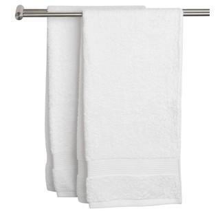 Khăn tắm JYSK Karlstad cotton màu trắng 50x100cm thumbnail