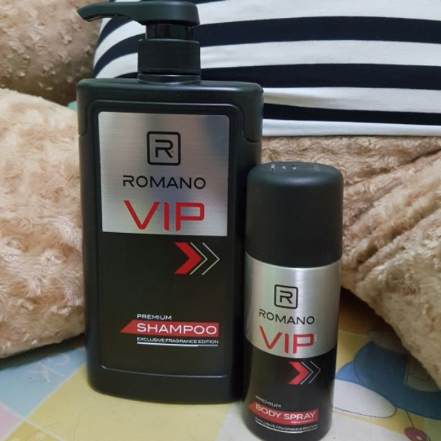 Romano VIP - Combo Gội 650g + Xịt Vip 150ml