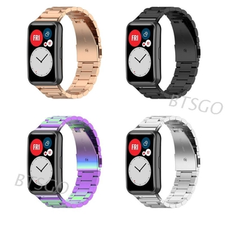 Dây đeo bằng inox thay thế dùng thay thế cho đồng hồ thông minh Huawei Watch Fit