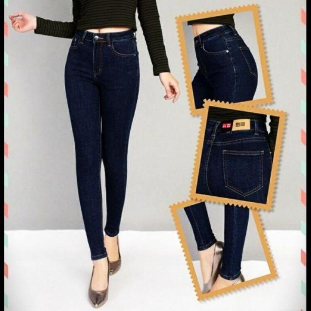 Quần Bò Nữ quần jeans nữ XuMon  rách Quần Jean Nữ Cao Cấp Hàn Quốc Jean Nữ Co Giãn Xanh Trơn