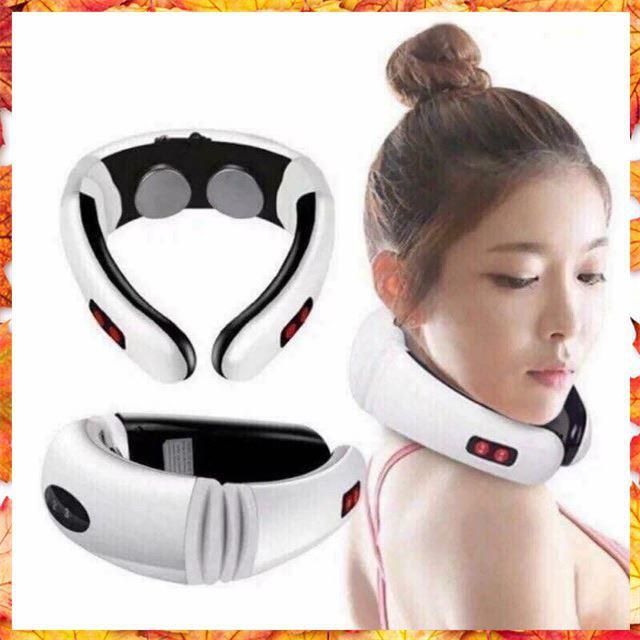 [Xả Kho] Máy Massage cổ 3D Trị Liệu cao cấp Mẫu Mới