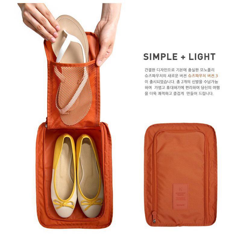 Túi Đựng Giày Du Lịch Phong Cách Hàn Quốc Cho Nữ