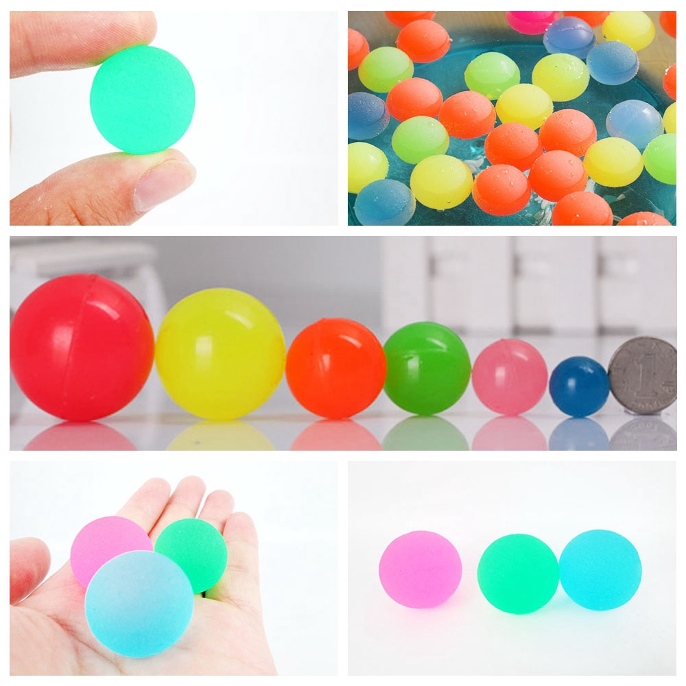 5PCS 60mm Kids Mixed Colorful Children Gift Pinball Bouncy Ball