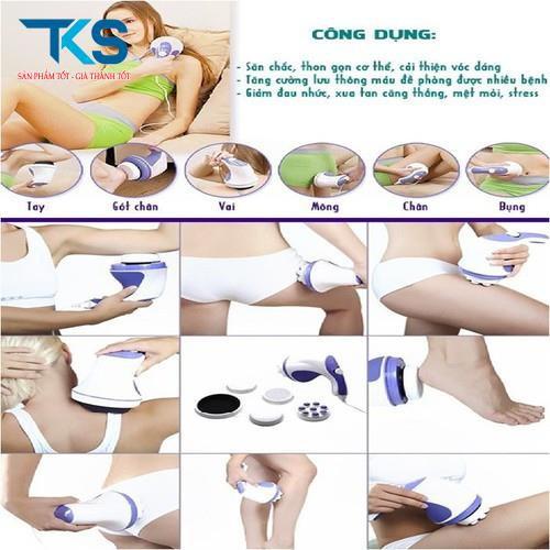 Máy massage relax tone giảm nhức mỏi, thư giản và tan mỡ hiệu quả