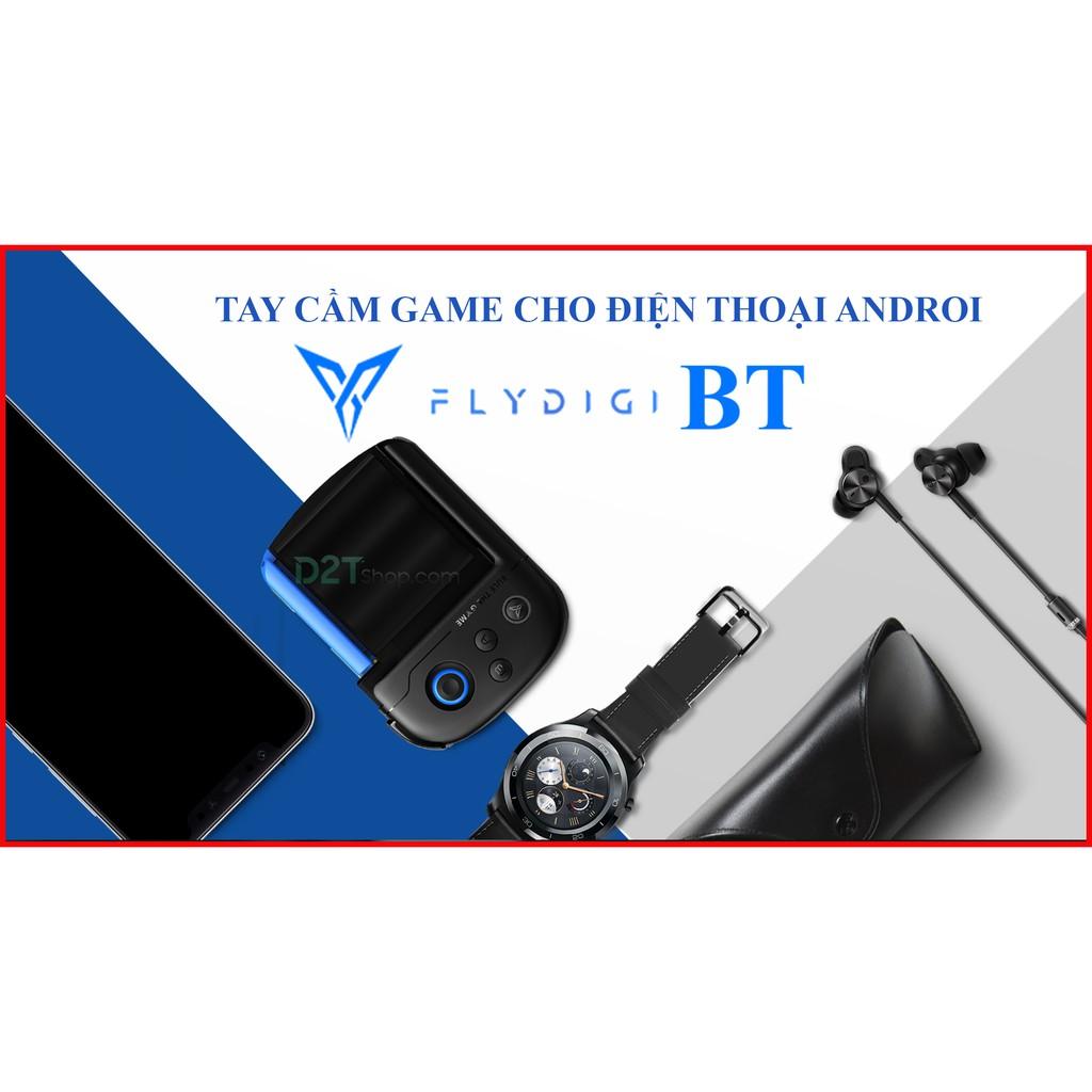Tay cầm chơi game Flydigi Wasp BT dành riêng cho IOS và ANDROI chơi PUBG , ROS , liên quân mobile, game FPS khác -dc3632