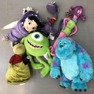 Thanh lý set đồ chơi thú bông Monster Inc