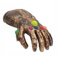 Đồ chơi găng tay thanos có đèn nhạc (kèm pin)