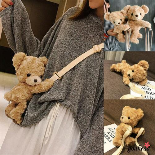 Túi xách hình chú gấu nhồi bông đáng yêu cho bé
