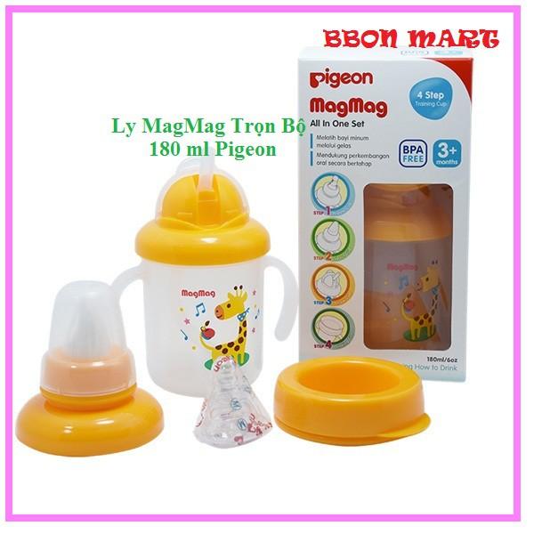Ly MagMag Trọn Bộ 180 ml Pigeon