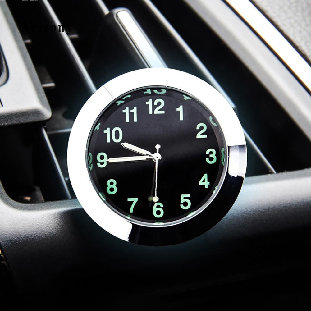ARZY♥Car Auto Luminous Clock Quartz Analog Watch Air Conditioning Outlet Accessory