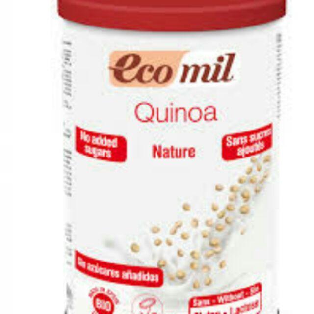 Sữa bột diêm mạch hữu cơ không đường Ecomil 400g