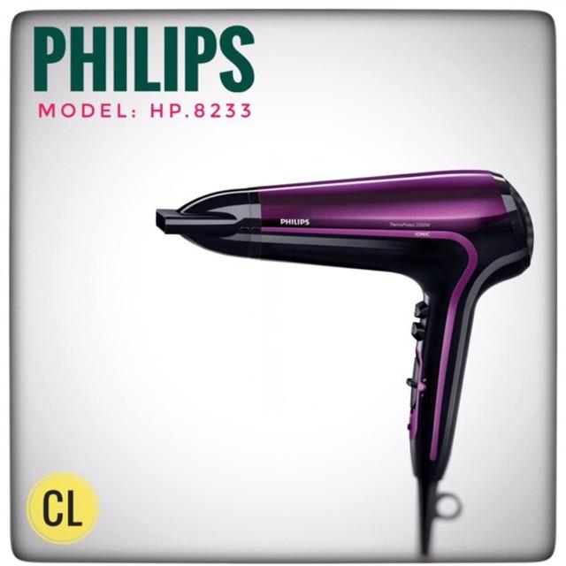 Hàng chính hãng - Máy sấy tóc Philips HP 8233