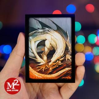 01 cái bọc bài Standard size Dayoote Dragon – 66 x 91 mm – dùng cho thẻ bài pokemon hoặc yugioh