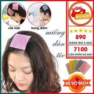 Miếng dán tóc - Miếng dán giữ tóc khi trang điểm rửa mặt gói 2 miếng (MDT02) thumbnail