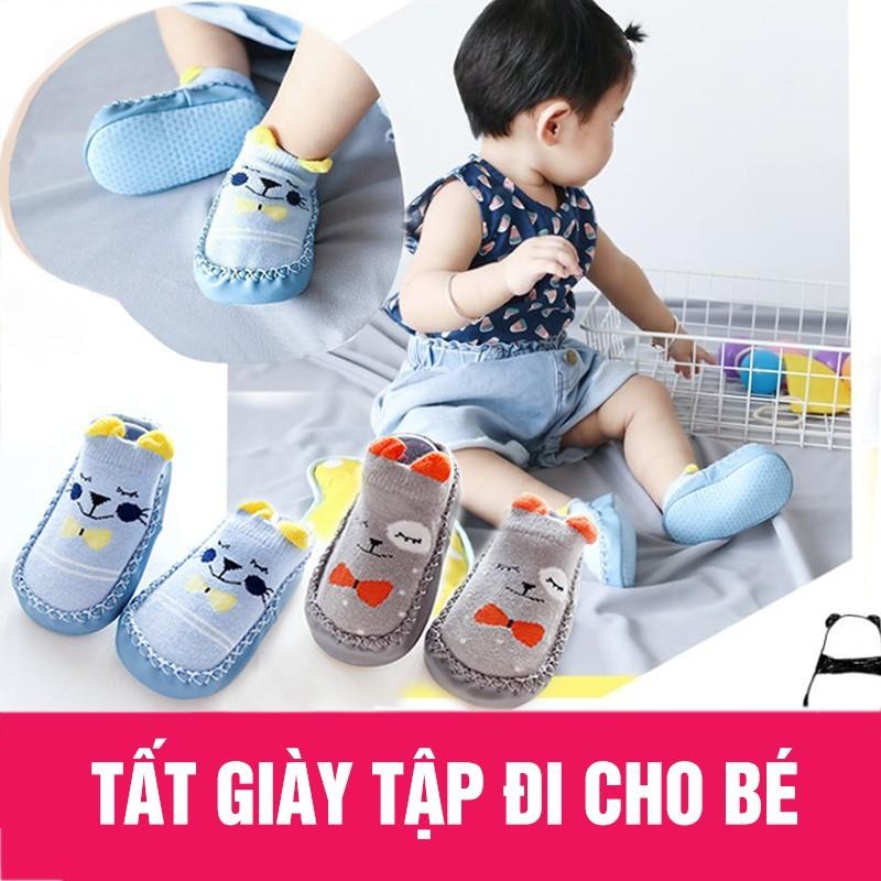 Giày tập đi chống trơn trượt cho bé trai/b