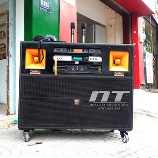 Loa kéo điện công suất lớn Prosing J97 Pro , Dàn karaoke gia đình cao cấp hát karaoke chất lượng bass đôi 40 thumbnail