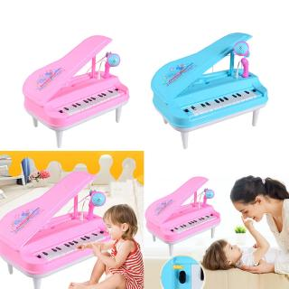 Kid Electronic Keyboard Piano With Microphone Musical Educational Toy