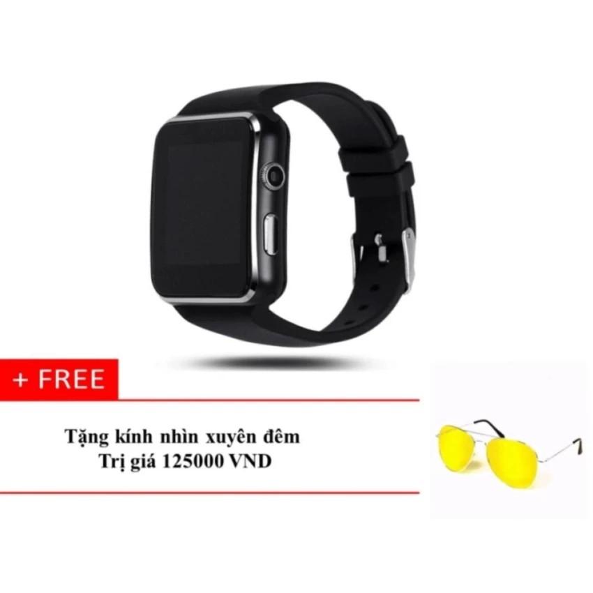 Đồng hồ thông minh X6 Màn hình Cong (Đen) + Kính xuyên màn đêm - 2589791 , 369917305 , 322_369917305 , 329000 , Dong-ho-thong-minh-X6-Man-hinh-Cong-Den-Kinh-xuyen-man-dem-322_369917305 , shopee.vn , Đồng hồ thông minh X6 Màn hình Cong (Đen) + Kính xuyên màn đêm