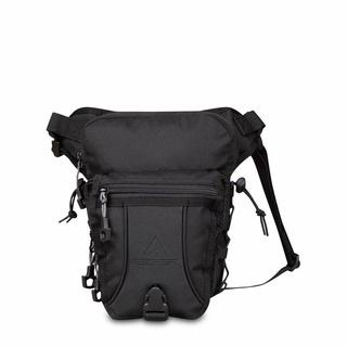 Túi đeo hông đeo hông đeo ngang đùi màu đen cho nam thumbnail
