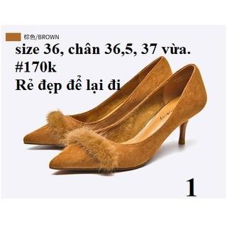 [HÀNG SẴN] Giày DAPHNE có sẵn, săn SALE lẻ size cực đẹp thumbnail