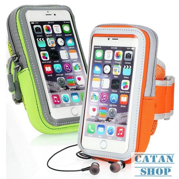 Bao, Túi điện thoại đeo tay chạy bộ, thể thao chống sốc điện thoại 4,7 inch Iphone 6 , 7, 8 TT02-BDT