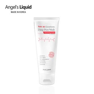 Sữa rửa mặt làm sạch, dưỡng trắng Angel s Liquid Tone-up Glutathione Deep Pore Wash Cleansing Foam 120g thumbnail