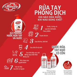 Gel rửa tay khô sạch siêu nhanh Lifebuoy bảo vệ vượt trội 10 (Chai vòi 235ml)-4