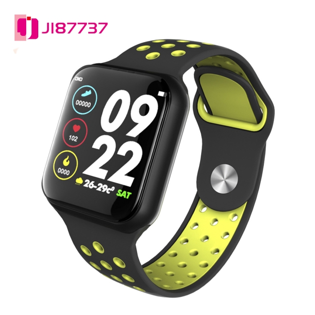 Smart Bluetooth Bracelet Watch Colorful Screen Silicone Strap Full Touch Screen Heart Rate Blood