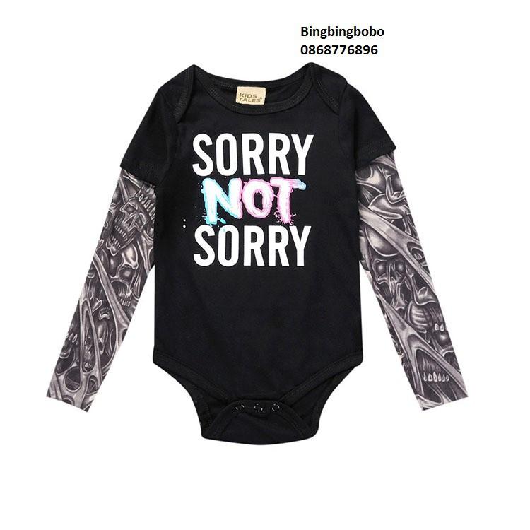Body săm trổ Sorry Not sorry