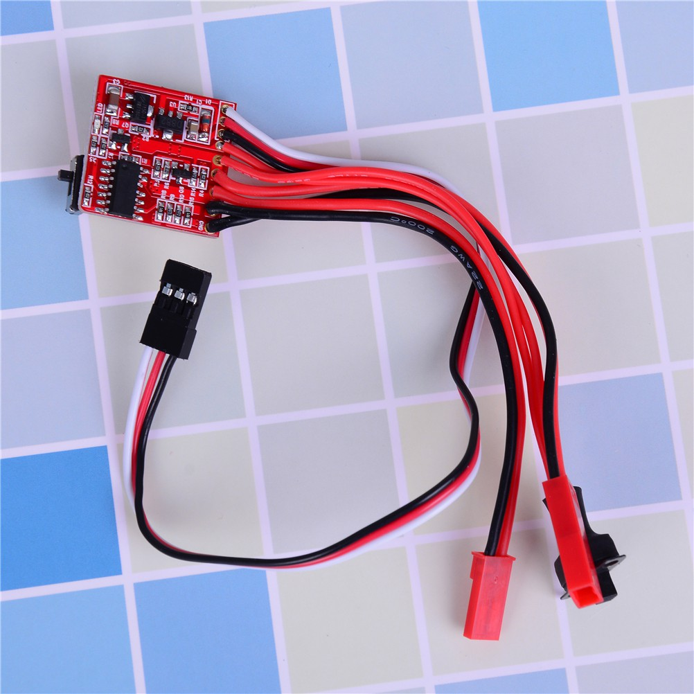 adore Rc esc 30a brush motor speed controller w/ brake for 1/16 1/18 rc car boat craving