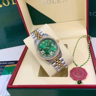 [fullbox + bảo hành 12th] Đồng hồ nữ Ro - mặt tròn viền đá sang trọng - bảo hành 12th phukienvip62 thumbnail