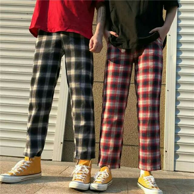Quần sọc caro vải kaki mềm nam nữ đều mặc đuợc - 3143100 , 1039697459 , 322_1039697459 , 89000 , Quan-soc-caro-vai-kaki-mem-nam-nu-deu-mac-duoc-322_1039697459 , shopee.vn , Quần sọc caro vải kaki mềm nam nữ đều mặc đuợc
