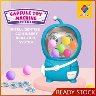 Simulation Electric Coin Operat Twisting Egg Machine With Light Music Shake Egg Lottery Machine