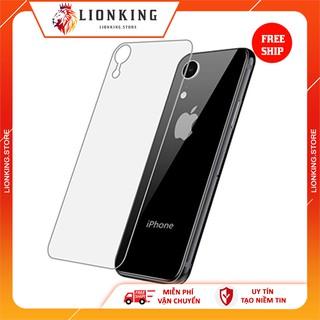 [KÍNH CƯƠNG LỰC IPHONE] Kính cường lực mặt sau trong suốt cho các dòng iphone 6 6plus 7 7plus 8 8plus X Xs Xr XsMax thumbnail
