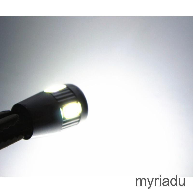 Đèn led T10 W5W 5630 SMD ánh sáng trắng dùng trang trí nội thất ô tô cao cấp