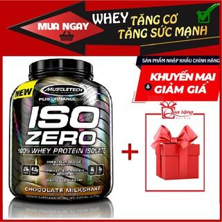 Sữa Whey Tăng Cơ Bắp To – Dày – Iso Zero 4lbs (1.8kg) Vị Chocolate – tinh khiết 100% Isolate