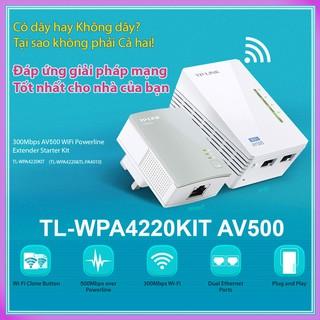 Bộ truyền Internet Wifi qua đường dây điện TP-Link TL-WPA4220KIT AV500 300Mbps