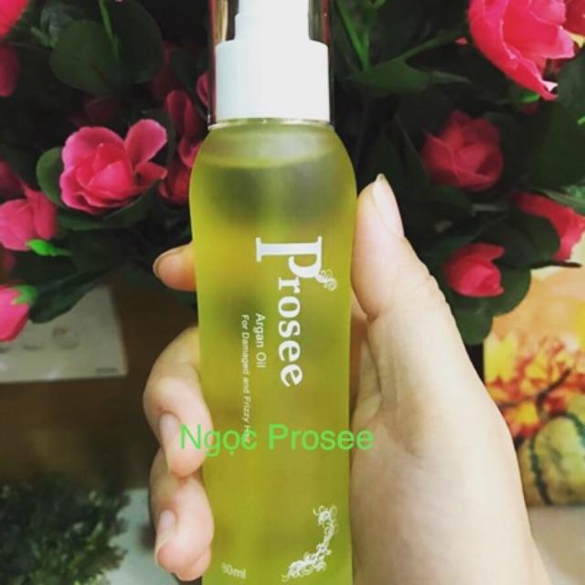 Dầu dưỡng tóc huyết thanh dưỡng tóc argan oil Prosee ae03