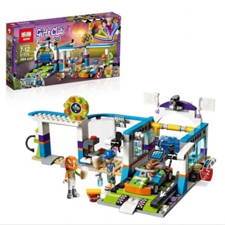 Lego friends 01076 – trạm rửa xe của Zack