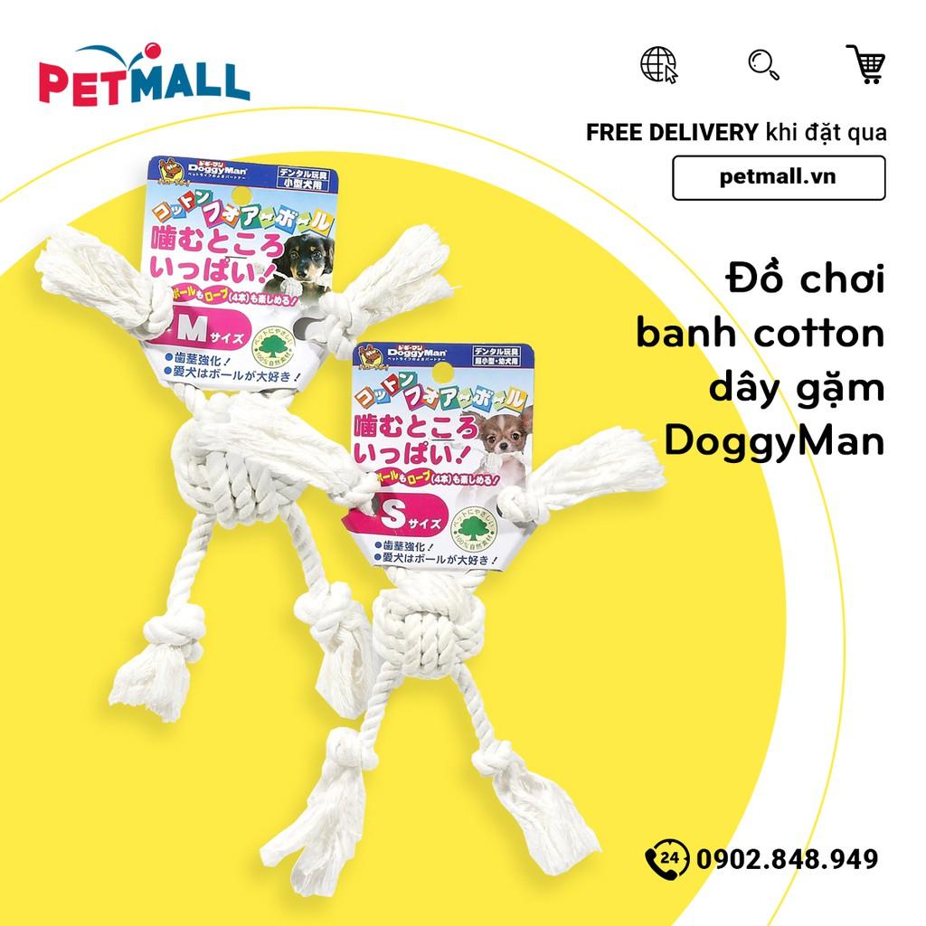 Đồ chơi banh cotton dây gặm DoggyMan