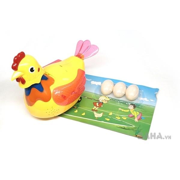 [Nhập TOY2107 Giảm 15%] - Gà đẻ trứng 5366: Loại lớn, có đèn, nhạc (Không kèm pin) - 2480517 , 61537545 , 322_61537545 , 120000 , Nhap-TOY2107-Giam-15Phan-Tram-Ga-de-trung-5366-Loai-lon-co-den-nhac-Khong-kem-pin-322_61537545 , shopee.vn , [Nhập TOY2107 Giảm 15%] - Gà đẻ trứng 5366: Loại lớn, có đèn, nhạc (Không kèm pin)