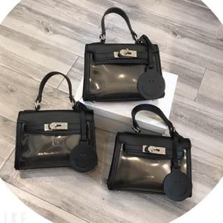 Túi đeo chéo nhựa trong thời trang - Túi xách nữ mini thời trang hotrend