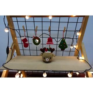 [Gói quà Noel] Bộ 5 món trang trí bằng len