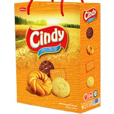 [Tết] Bánh hỗn hợp Hộp giấy Quai xách Cindy - Bibica 330 gam - 9925947 , 767272536 , 322_767272536 , 37000 , Tet-Banh-hon-hop-Hop-giay-Quai-xach-Cindy-Bibica-330-gam-322_767272536 , shopee.vn , [Tết] Bánh hỗn hợp Hộp giấy Quai xách Cindy - Bibica 330 gam