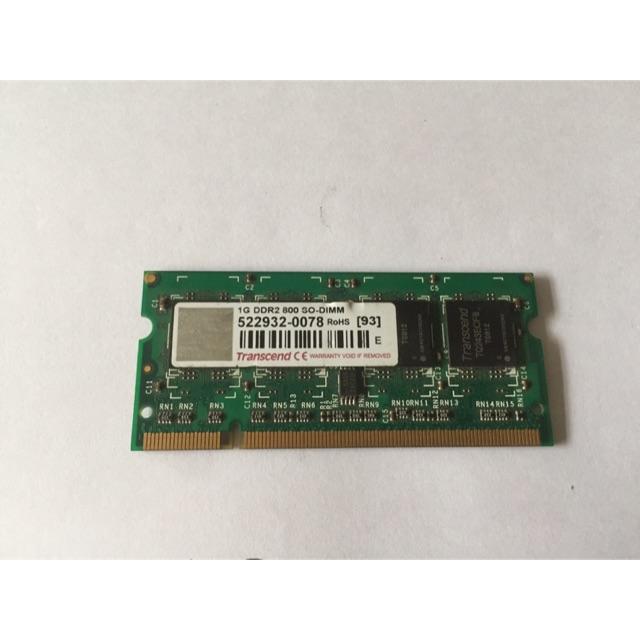 Ram laptop DDRII 1G buss 800(cũ)| Ram laptop giá rẻ