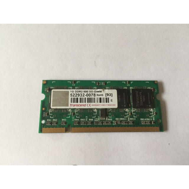 Ram laptop DDRII 1G buss 800(cũ)| Ram laptop giá rẻ Giá chỉ 100.000₫