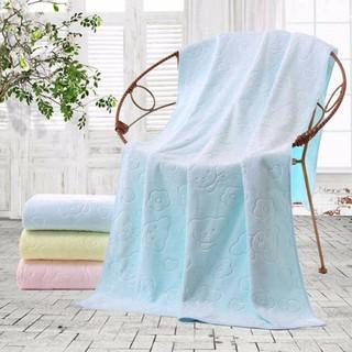 Khăn Tắm Vải Cotton Mềm Thấm Hút Tốt Chống Rơi Chuyên Dùng Cho Người Lớn Tuổi / Người Lớn Tuổi
